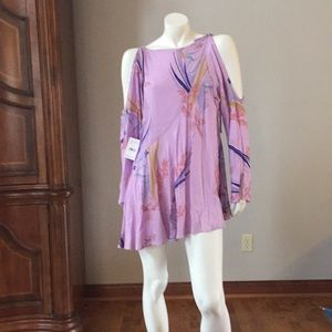New w/tag GORGEOUS FREE PEOPLE cold shoulder dress